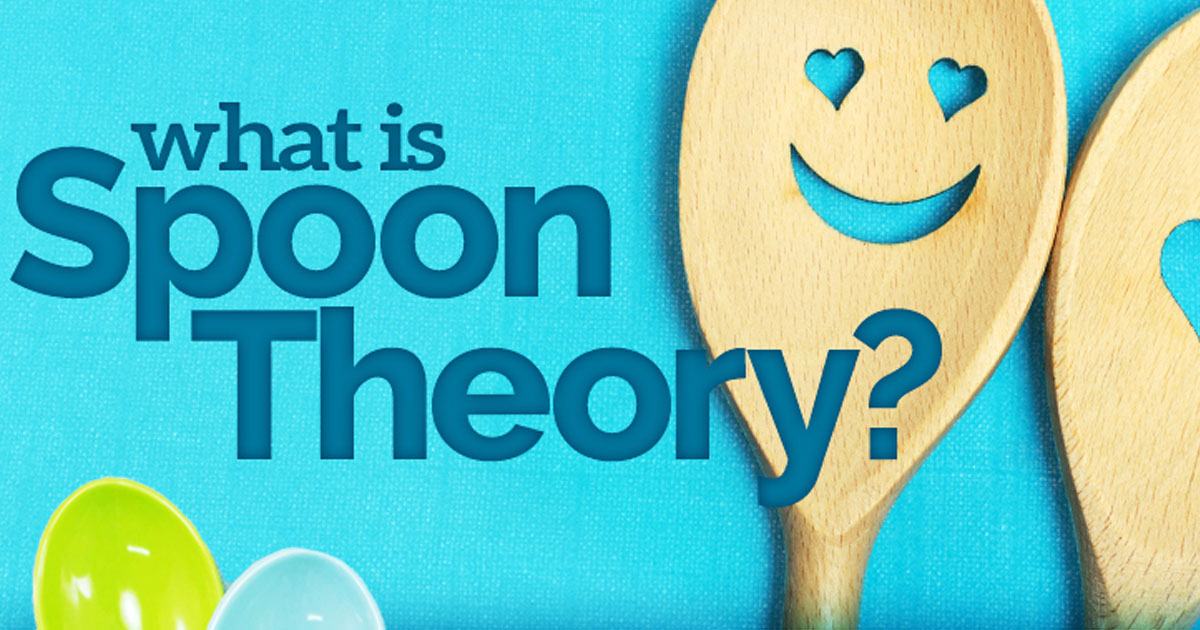 ibs spoon theory infographic: New Life Outlook IBS Infographic