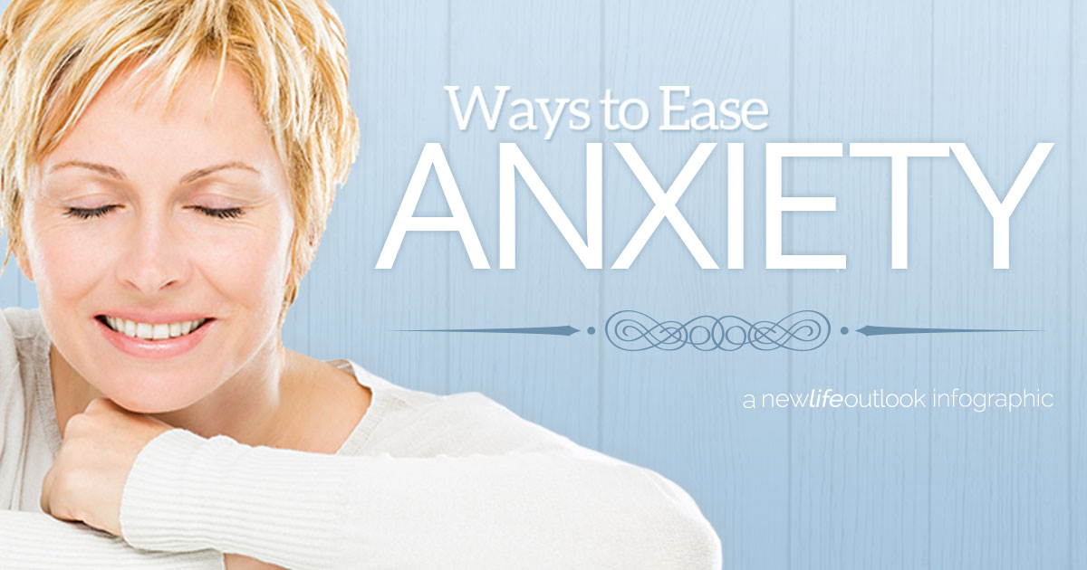 New Life Outlook - IBS Infographic: Soothe Anxiety to Soothe IBS